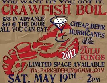 Crawfish Boil 2012